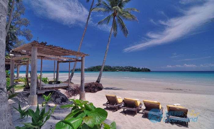 泰国沽岛沙滩