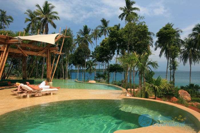 沽岛度假村私人泳池