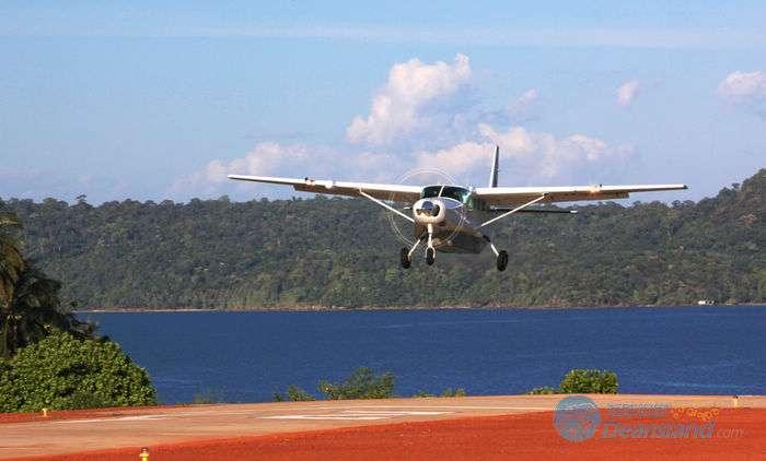 泰国沽岛小型飞机