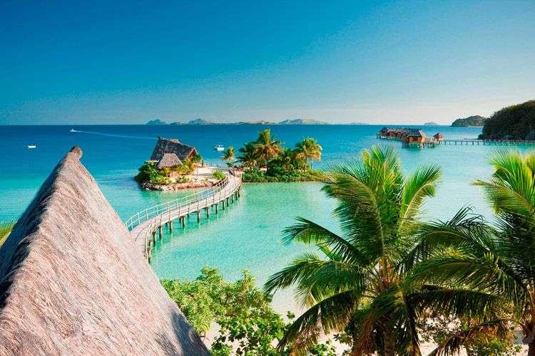 上海直飞】斐济主岛国际五星+likuliku岛自由