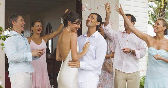 斐濟索菲特婚禮