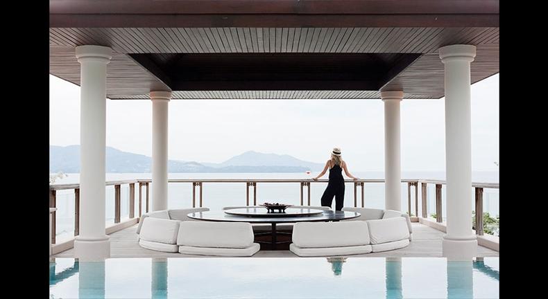 每一间泳池别墅能给您提供一个真正意义上的隐私空间和美丽的海景,您