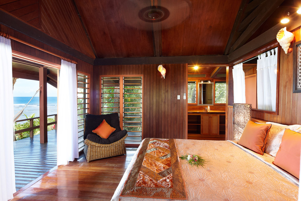 三卧室别墅的海景卧室
